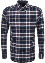 Barbour Castlebay Check Shirt Navy