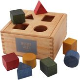 Wooden Story Wooden Shape Sorter Box & Blocks