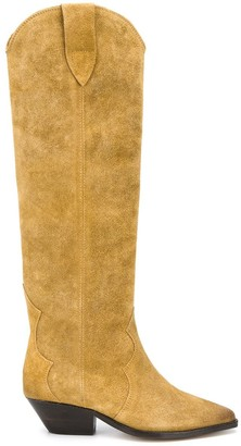 Isabel Marant pointed knee-length boots