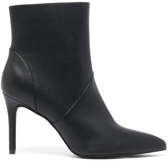 Forever New Miranda Pointed Seam-Detail Boots - Black - 36