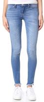 Blank Raw Hem Skinny Jeans