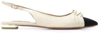 Aquazzura Toe-Cap Ballerina Shoes