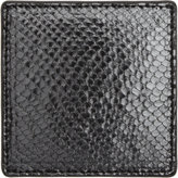 Barneys New York Python-Embossed Square Coaster
