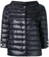 Herno cropped sleeves padded jacket - women - Polyamide - 40