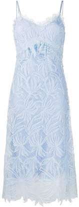 Ermanno Scervino Lace Embroidered Midi Dress