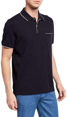 Loro Piana 2-Button Regatta Polo Shirt