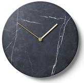 Menu Marble Wall Clock - Black