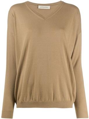 Gentry Portofino V-neck knit jumper