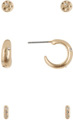 Melrose and Market Hoop & Stud Earrings Set - Set of 3