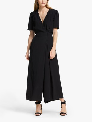 Somerset by Alice Temperley Wrap Jumpsuit, Black
