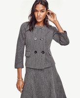 Ann Taylor Petite Mod Double Breasted Jacket