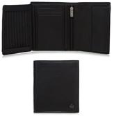Jeff Banks Black Leather Fold Over Wallet