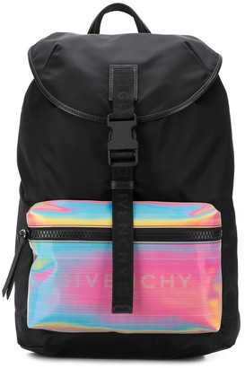 Givenchy Logo Print Backpack