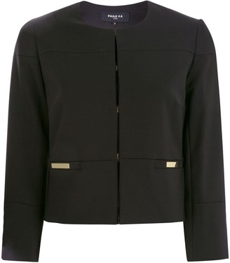 Paule Ka Cropped Panelled Jacket