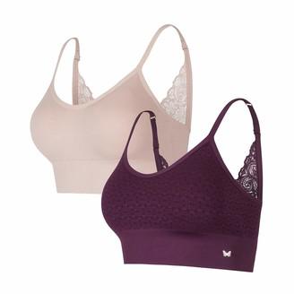 Jessica Simpson Women's Seamless Comfort Bra Multi-Pack
