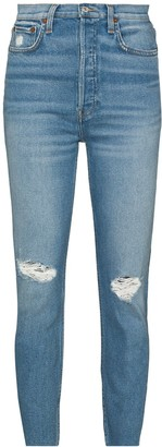 RE/DONE Distressed Skinny Jeans