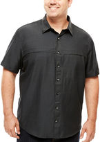 Van Heusen Short-Sleeve Traveler Shirt - Big & Tall