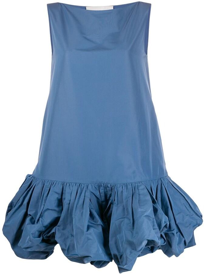 Valentino Peplum Hem Shift Dress