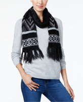 Charter Club Fair Isle Chenille Scarf, Only at Macy's