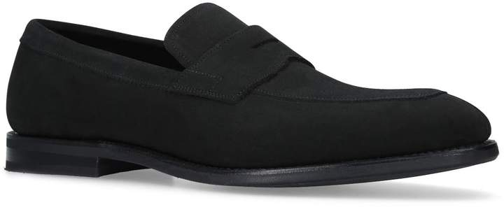 Church's Suede Parham Penny Loafers
