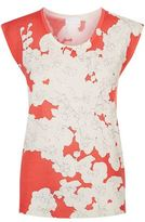 Escada Sport Blossom Print Wool T-shirt