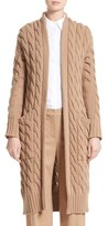 Max Mara Women's Violino Cable Knit Wool & Cashmere Cardigan