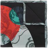 Etro paisley patterned scarf