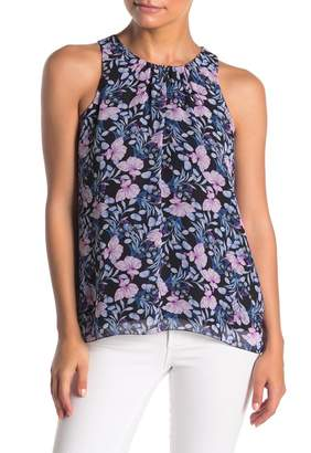 Vince Camuto Charming Floral Chiffon Blouse (Regular & Petite)