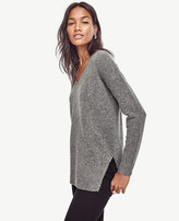 Ann Taylor Petite V-Neck Tunic Sweater