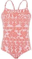 Vilebrequin Coral Turtle Print Swimsuit