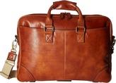 Bosca Dolce Collection - Zip Top Brief Briefcase Bags