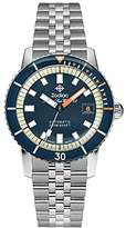 Zodiac Men's 'Super Seawolf' Swiss Automatic Stainless Steel Casual Watch, Color:Silver-Toned (Model: ZO9266)