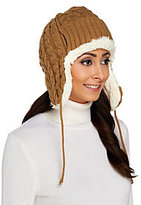 Muk Luks Classic Cable Knit Trapper Hat