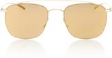 Mykita Gold Aviator Sunglasses