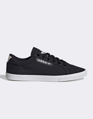 adidas Sleek Lo sneakers in black