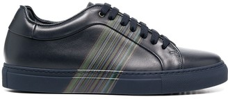 Paul Smith Low Top Stripe Print Sneakers