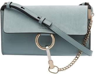 Chloé Faye leather wallet bag