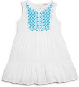 Design History Girls' Embroidered Dress - Sizes 2-6X