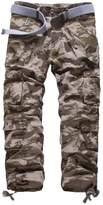 Elonglin Mens Military Combat Pants Cargo Trousers Multipockets W 38 (Asian 40)