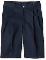 Izod Pleated Twill Shorts - Boys 8-20, Slim and Husky
