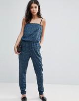 Vero Moda Graphic Print Jumpsuit