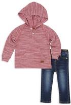 7 For All Mankind Boys' Hooded Henley & Jeans Set - Little Kid