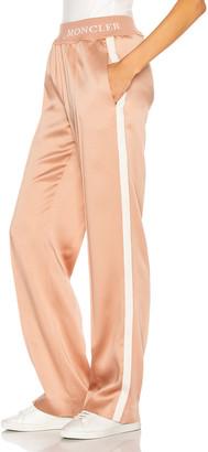 Moncler Pantalone Pant in Blush | FWRD