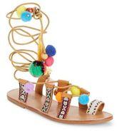 Catherine Malandrino Pom Toy Sandals