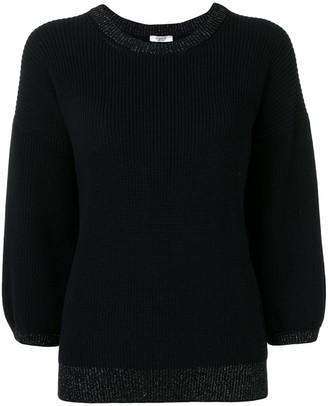 Peserico 3/4 sleeves jumper
