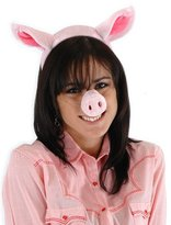 Elope Pig Nose, Ear, & Tail Costume Kit