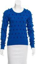 Lisa Perry Pom-Pom Long Sleeve Sweater w/ Tags