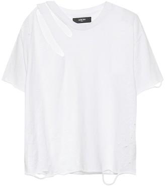 Amiri Slash cotton T-shirt