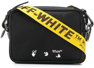 Off-White OW logo print crossbody bag
