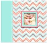 MCS MBI 12x12 Inch Pastel Glitter Chevron Scrapbook Album (860116)